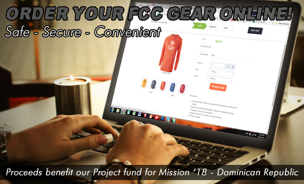 Click here to order your FCCN gear